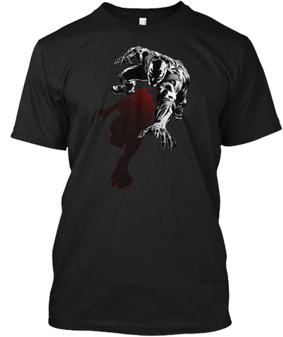 Black Panther With Shadow   Mens Premium T Shirt