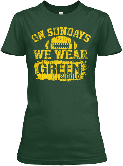 Limited Edition - Green And Gold