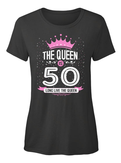 WOMAN 50 YEAR OLD-BIRTHDAY-THE QUEEN