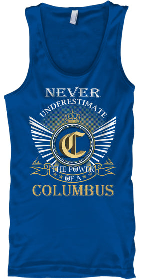 COLUMBUS - Never Underestimate