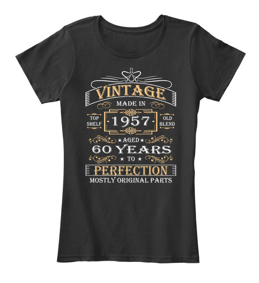 Vintage Age 60 Years 1957 Perfect 60th Birthday Gift