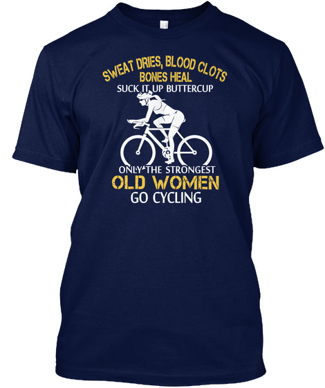 Limited - Strong Cycling Old Woman