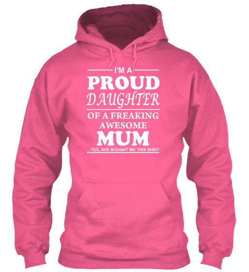 GIFT FOR PROUD DAUGHTERS - FROM MUM