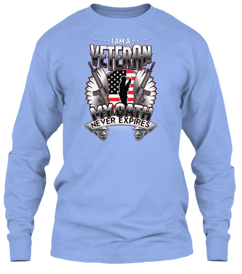 100 SHIRT SOLD - I AM A VETERAN MY OATH