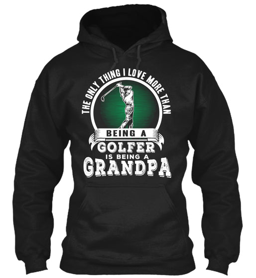Grandpa Over Golf