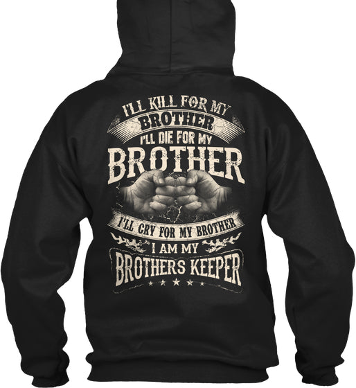 Brother T-shirt -I Am My Brothers Keeper