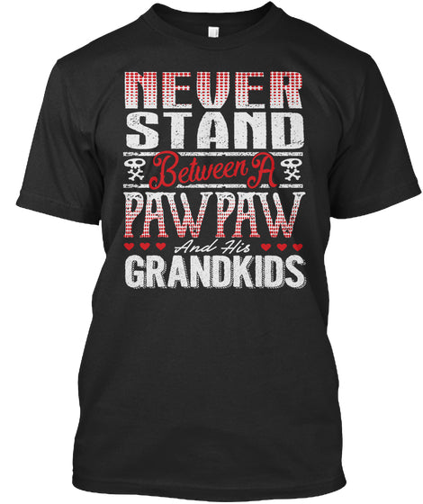 PAWPAW AND HIS GRANDKIDS ~ Front Print
