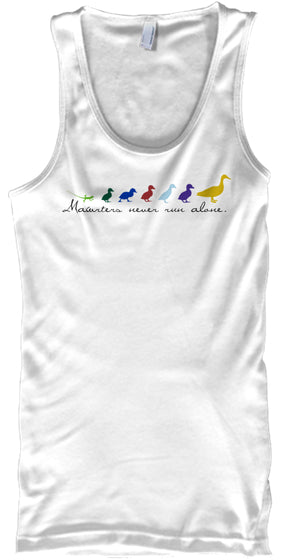 Never Run Alone run-ready tees  tanks