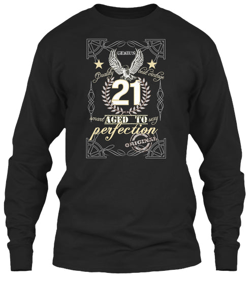 21 Aged To Perfection - The Birth Gifts T-Shirt