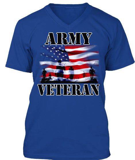 ARMY VETERAN T-SHIRTS - MEN'S T-SHIRT