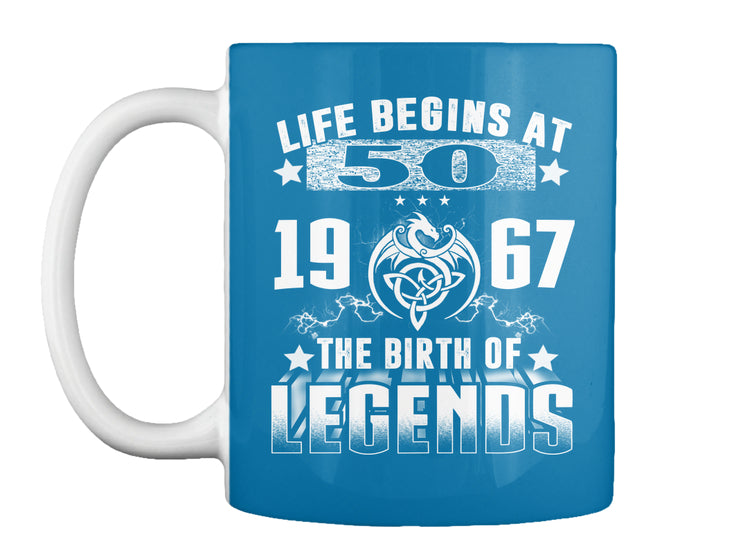 Life begins at 50-shirt