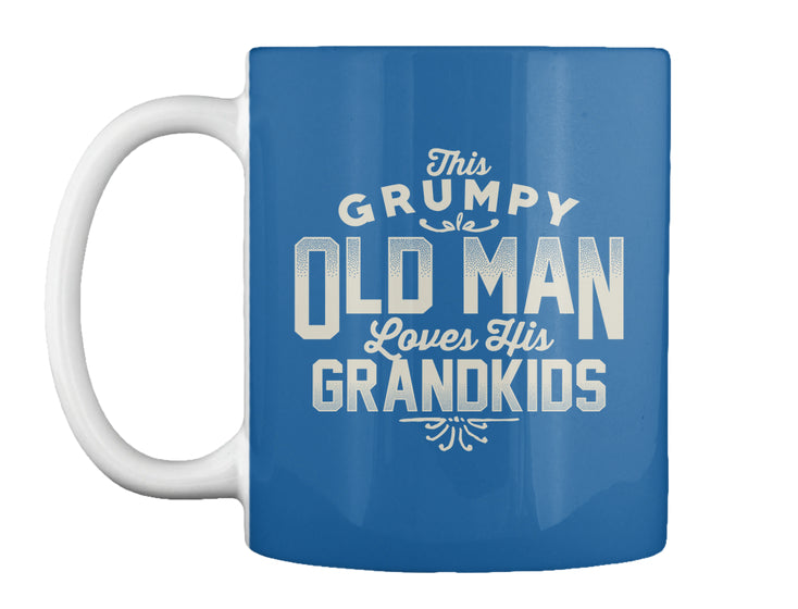Grumpy loves his Grandkids