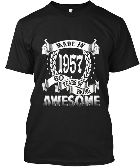 Awesome Made In 1957 Birthday Gift Idea