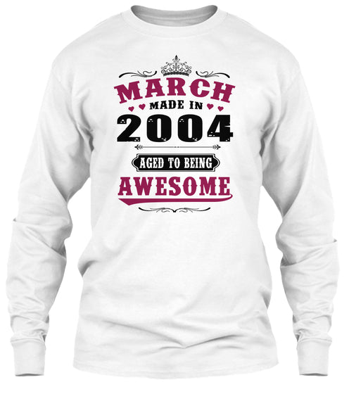 2004 March Aged to being Awesome
