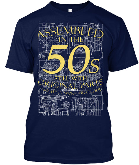 Limited - Born in the 50s Shirt