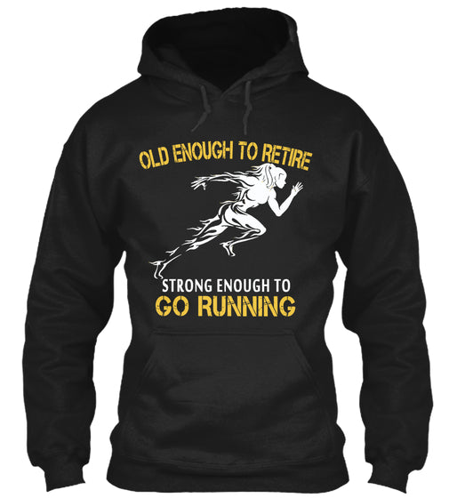 Limited - Old Enough Running Woman