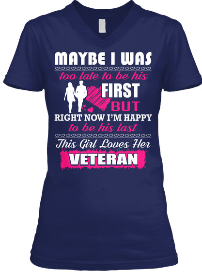 Veteran's Wife- I'm Happy To Be His Last