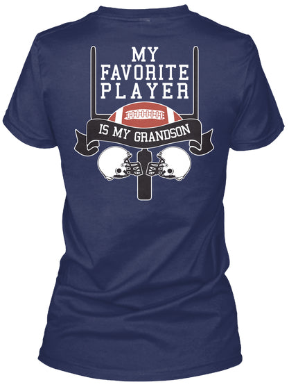 My Fav Player GRANDSON- Shirts - FB