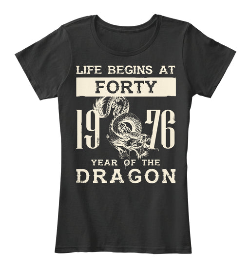 1976 Year of the Dragon - Forty Tee