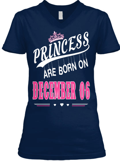 Princess are born on December 06