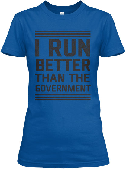 Run Better - Funny Tank Top