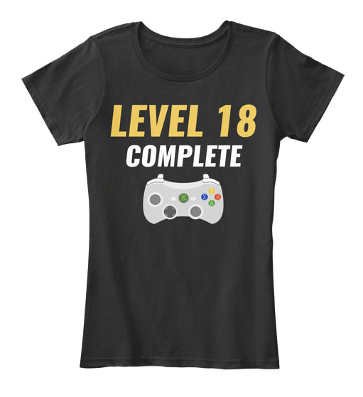 Level 18 Complete 18th Birthday