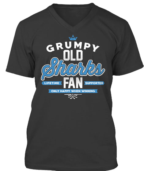 Sharks - Grumpy Old Fan