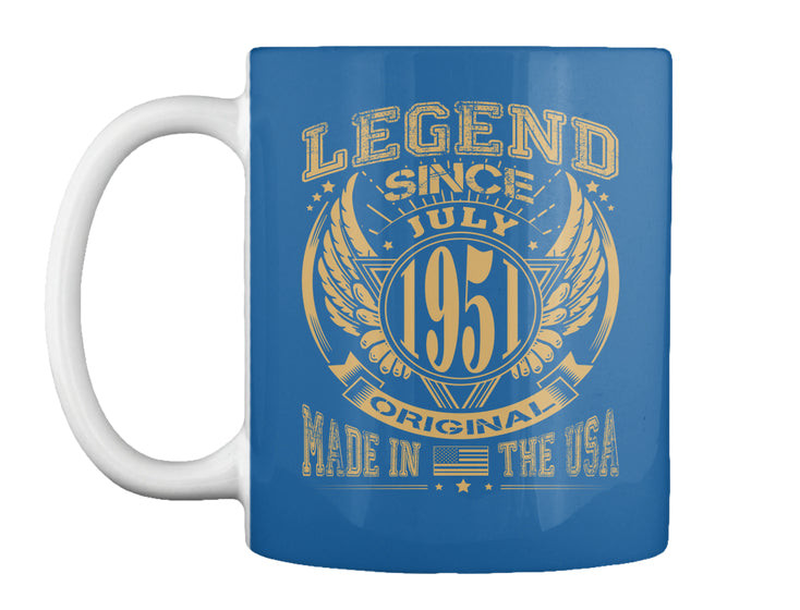 LEGEND SINCE JULY 1951 MADE IN USA