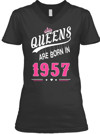 Queens are born in 1957