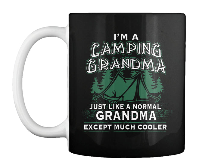 Wear The Camping Grandma Shirt