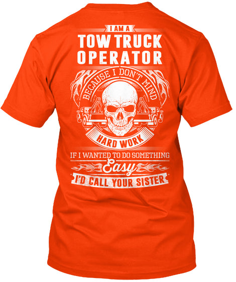 Tow truck operator-Limited Edition