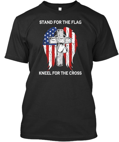 100 SHIRT SOLD - STAND FOR THE FLAG KNEE