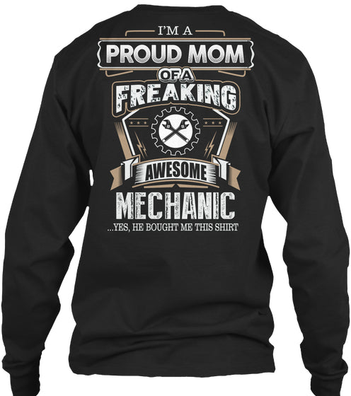 AWESOME MECHANIC MOM  Shirt For Mom