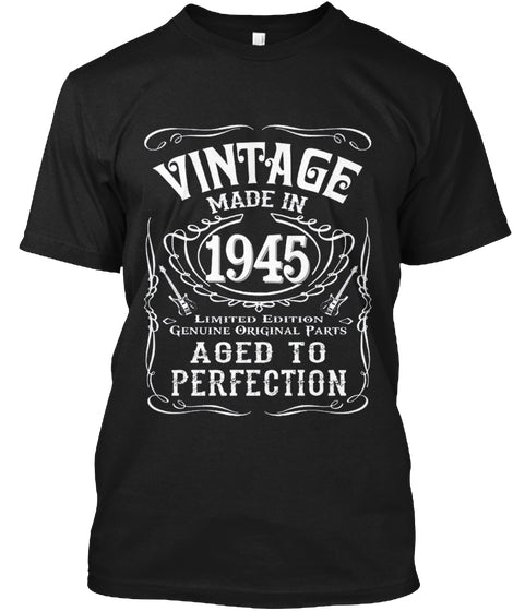 Vintage Made In 1945 Birthday Gift Idea