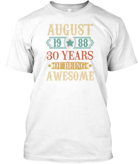 August 1988 30 Years Of Being Awesome Vi