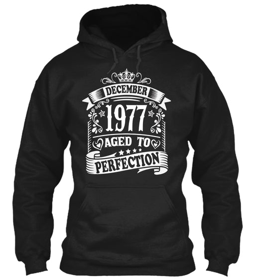 December 1977 Aged To Perfection Birthday Gift T-Shirts