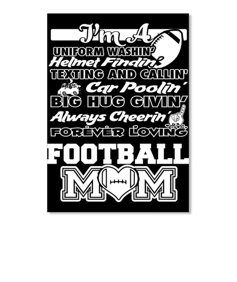 Love This Football Poem Mom Shirt