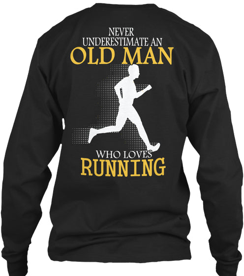 Limited - Running Old Man Shirt