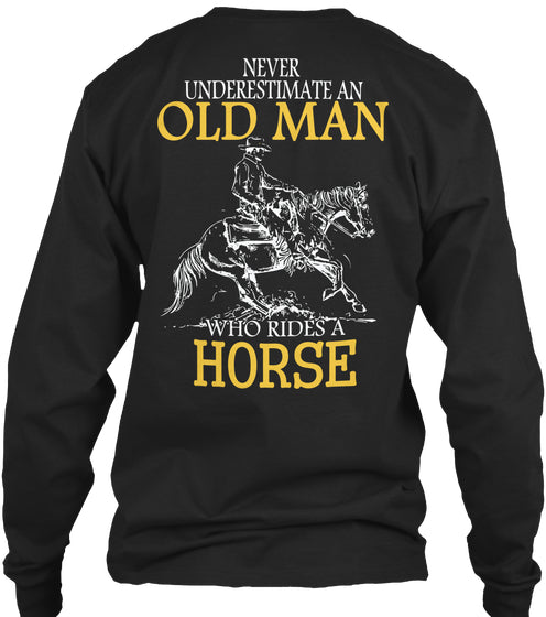 Limited Edition - Western Horse Old Man
