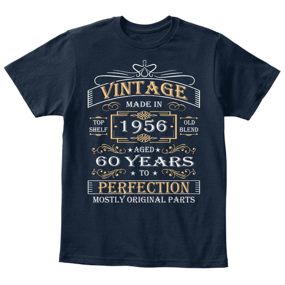 Vintage Age 60 Years 1956 Perfect 60th B