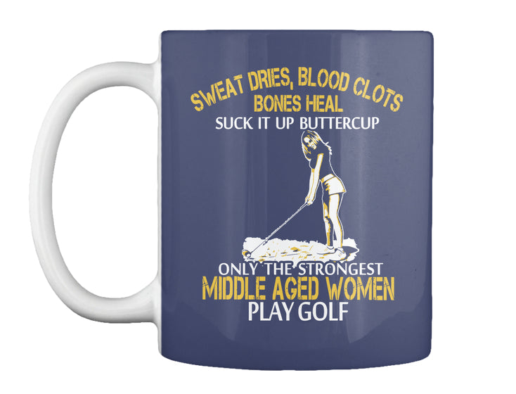 Limited - Strong Golf Middle Aged Woman