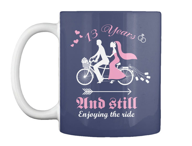 13th Wedding Anniversary Gift Shirt Coffee Mug Pin My Tees