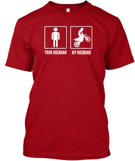 Motocross - My Husband Tee