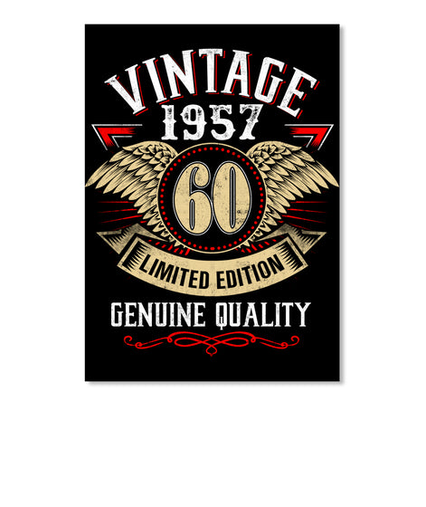 HUNTING VINTAGE 1957 for 60 year