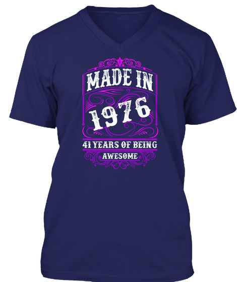 100 SHIRT SOLD - MADE IN 1976 41 YEARS O