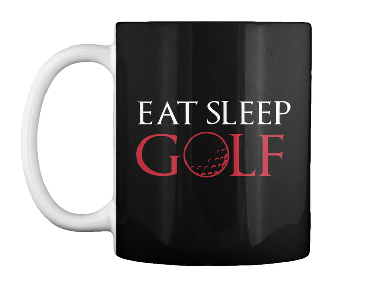 Eat Sleep Golf Funny TShirt