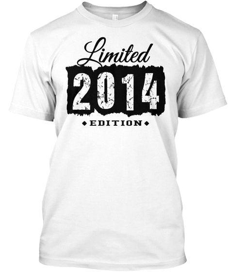 2014 Limited Edition 3th Birthday 3 Years Old Shirt