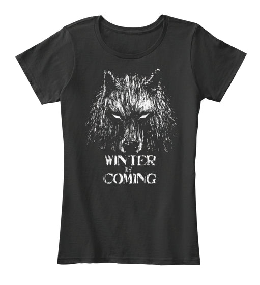 GameofThroness Direwolf Winter is Coming
