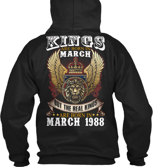 The Real Kings Are Born In March 1988