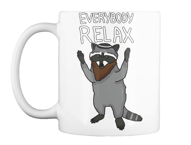 relax the raccoon